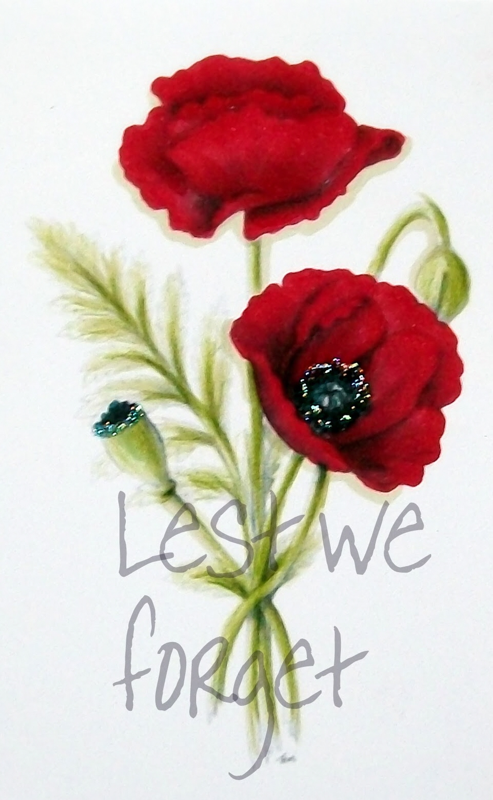 Lest We Forget Poppy Tattoo Designs