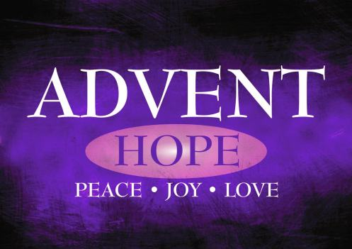 advent a season of hope � a message from our bishop