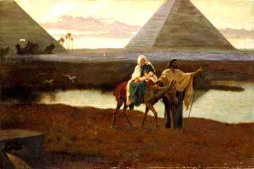 Flight into Egypt 01