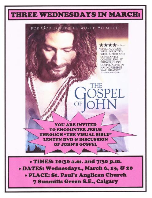Gospel of John Poster