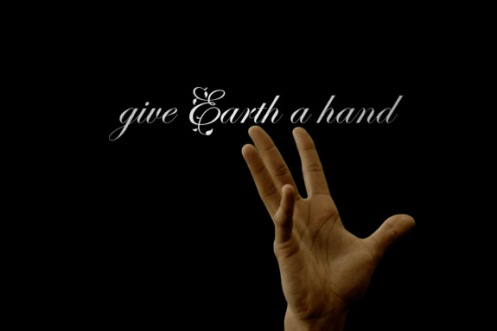 give earth a hand