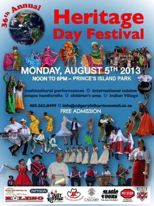 Heritage Day Poster