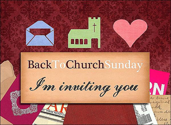Invite someone to come with us to church this sunday pastor s