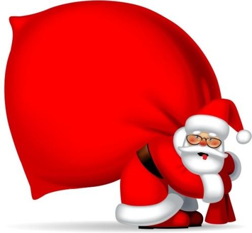 Tuckered Santa