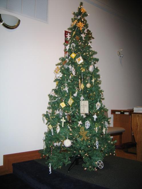 Chrismon Tree 2013