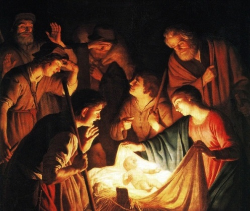 Honthorst - Adoration of the Shepherds