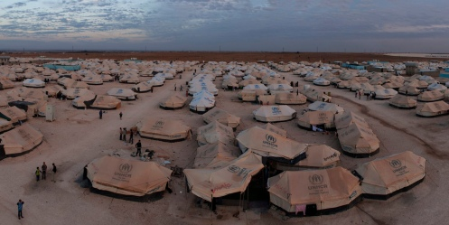 Refugee Camp Panoramas: Za'atari Refugee Camp, Jordan