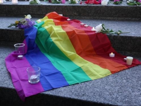 ottawa-vigil-orlando-mass-shooting-june-12-2016-pride-flag-ground