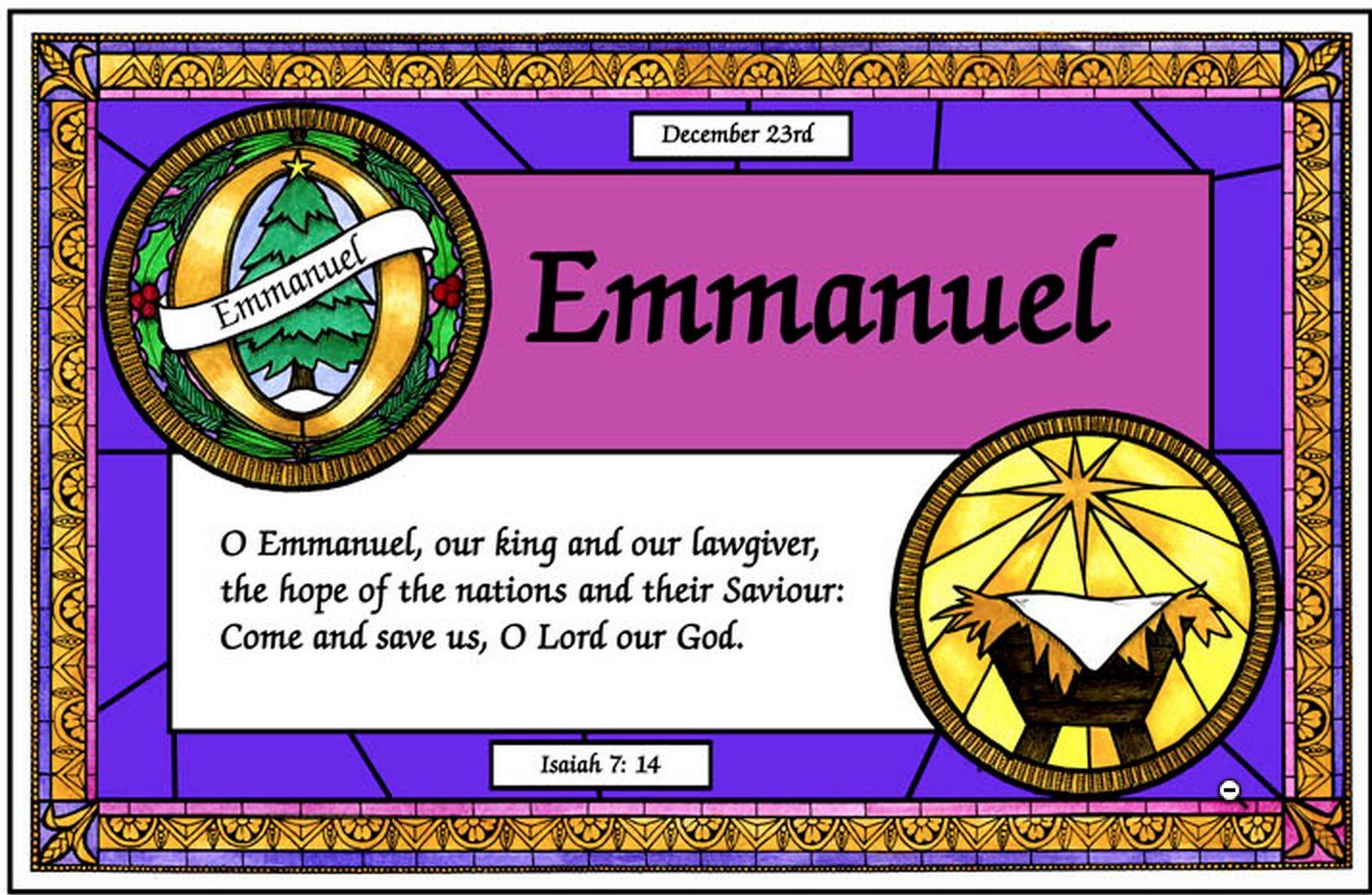 """An Invitation to Pray the """"O"""" Antiphons 
