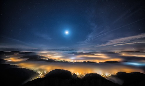 nature-mountain-night-city-star-lanscape-694x417