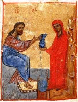 samaritan-woman-at-the-well-jruchi-gospels-ii-mss-georgia-12th-cen