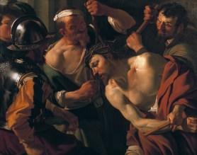 The crowning with thorns, by Dirck van Baburen